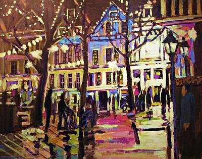Nocturnal Painting - Holland Nights by Brian Simons