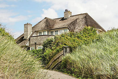 Photograph - Holland - Thatched House In The Dunes by Gabriele Pomykaj