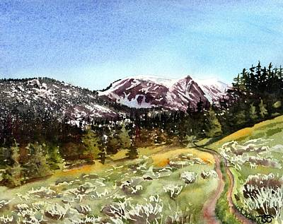 Bozeman Painting - Hollowtop by Tammy Crawford