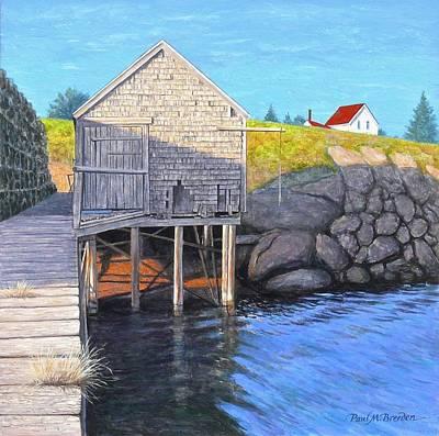 Holly Myrick's Fish House Original by Paul Breeden