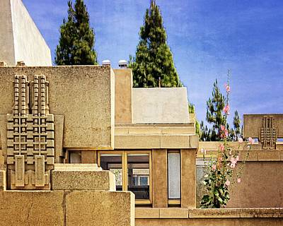 Photograph - Hollyhock House by Timothy Bulone
