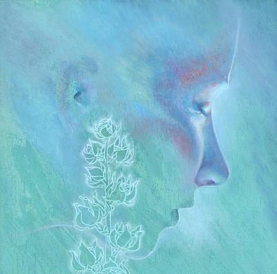 Painting - Hollyhock by Ragen Mendenhall
