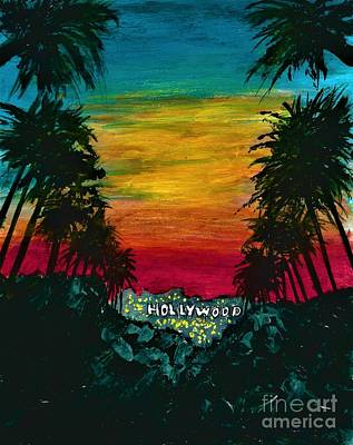Painting - Hollywood  by Allison Constantino