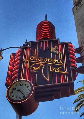 Photograph - Hollywood And Vine by Jenny Revitz Soper