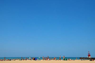 Photograph - Hollywood Beach Chicago by Andrew Dinh