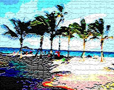 Photograph - Hollywood Beach Fla Digital by Dick Sauer