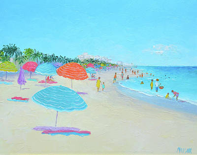 Painting - Hollywood Beach Florida by Jan Matson