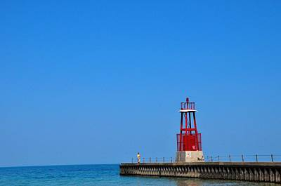 State Love Nancy Ingersoll - Hollywood Beach Lighthouse by Andrew Dinh