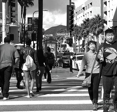 Photograph - Hollywood Blvd by Cheryl Del Toro