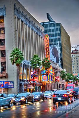 Photograph - Hollywood Blvd Glitter  by David Zanzinger
