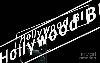 Photograph - Hollywood Boulevard Two Times by John Rizzuto
