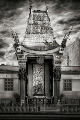 Photograph - Hollywood Chinese Theater2 by Joseph Hollingsworth