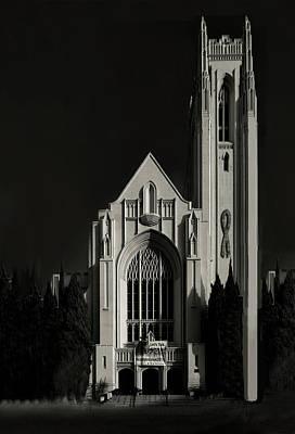 Photograph - Hollywood Church  by Joseph Hollingsworth