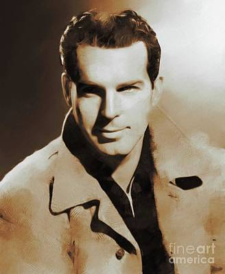 All American - Hollywood Classics, Fred MacMurray, Actor by Esoterica Art Agency