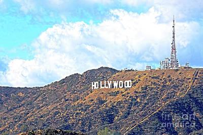 California Tourist Spots Photograph - Hollywood by Edita De Lima