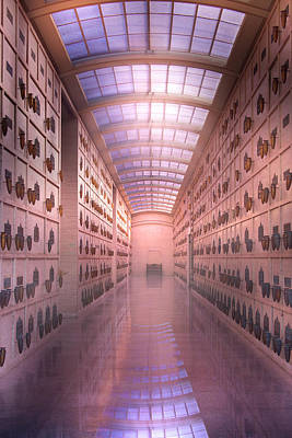 Photograph - Hollywood Forever Mausoleum by Mark Andrew Thomas