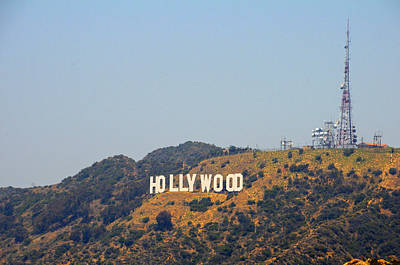 Photograph - Hollywood Haze by Lynn Bauer
