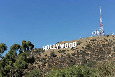 Photograph - Hollywood Hills by Kathleen McGinley