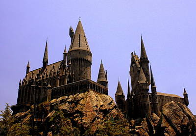 Photograph - Hollywood Hogwart's by David Nicholls