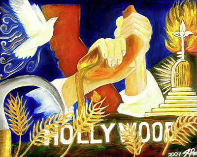 Painting - Hollywood by Jennifer Page