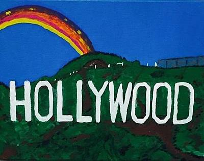 Painting - Hollywood by Jonathon Hansen