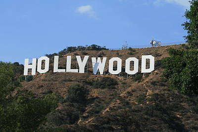 Art Print featuring the photograph Hollywood by Marna Edwards Flavell