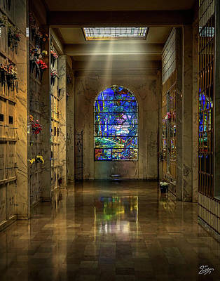 Photograph - Hollywood Memorial Park Mausoleum by Endre Balogh