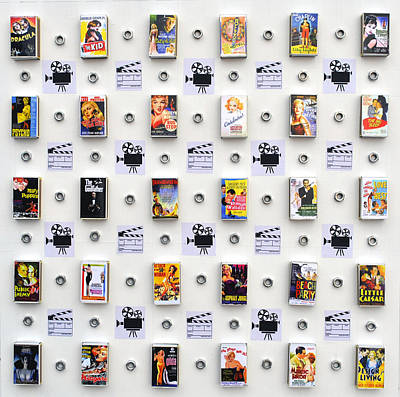 Installation Mixed Media - Hollywood On A Matchbox by Sumit Mehndiratta