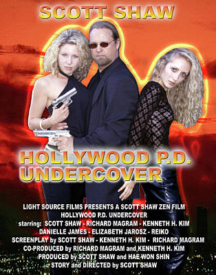 Photograph - Hollywood P.d. Undercover by The Scott Shaw Poster Gallery