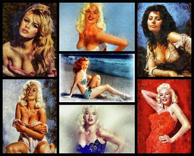 Actors Royalty-Free and Rights-Managed Images - Hollywood Pinups by Esoterica Art Agency