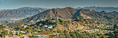 Photograph - Hollywood Secret Path To The Hollywood Sign by David Zanzinger