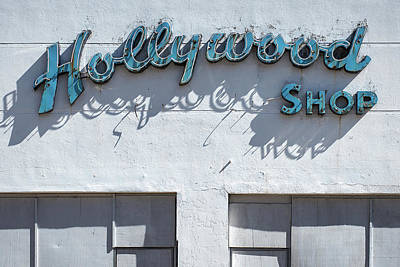 Photograph - Hollywood Shop by Bud Simpson