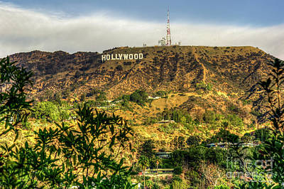Photograph - Hollywood Sign Iconic Signage Los Angeles California Art by Reid Callaway