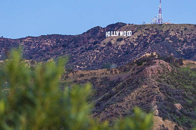 Photograph - Hollywood Sign In The Morning by John McGraw