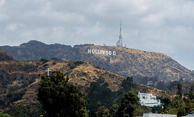 Photograph - Hollywood Sign by Jean Haynes