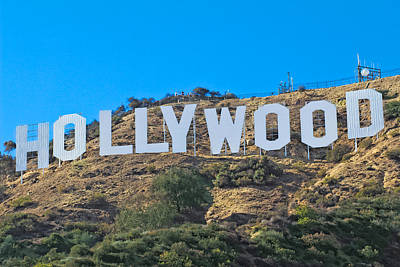 Photograph - Hollywood Sign by Kim Wilson