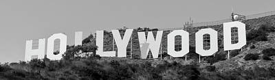 Photograph - Hollywood Sign by Maj Seda