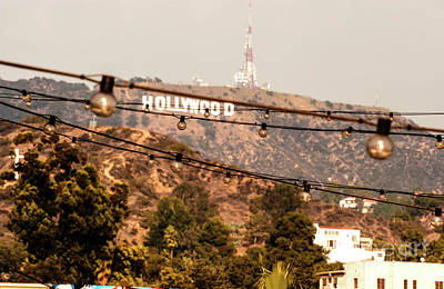 Photograph - Hollywood Sign On The Hill 3 by Micah May