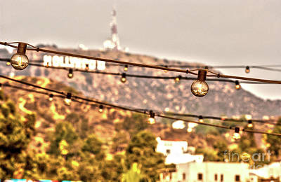 Photograph - Hollywood Sign On The Hill 6 by Micah May