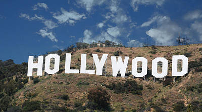 Photograph - Hollywood Sign by Robert Hebert