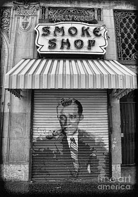 Hollywood Smoke Shop Art Print