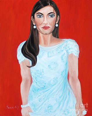 Painting - Hollywood Star by Oksana Semenchenko