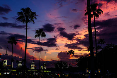 Photograph - Hollywood Studios Twilight by Chris Bordeleau