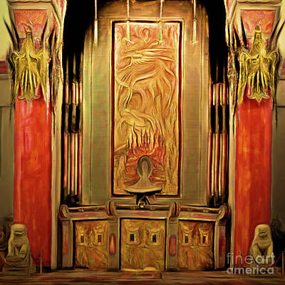 Photograph - Hollywood Tcl Graumans Chinese Theatre 20180428 Square by Wingsdomain Art and Photography