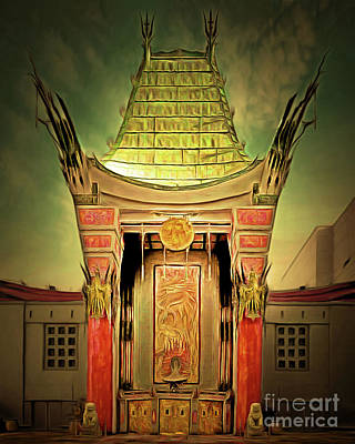 Photograph - Hollywood Tcl Graumans Chinese Theatre 20180428 by Wingsdomain Art and Photography