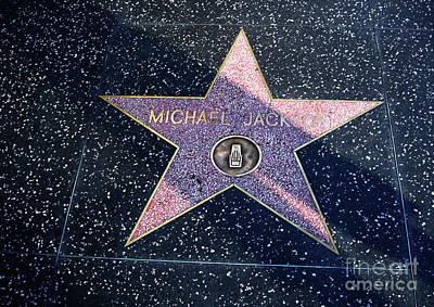 Hollywood Walk Of Fame Art Print