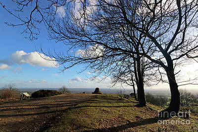 Photograph - Holmbury Hill Surrey Uk by Julia Gavin
