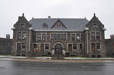 Northeast Philly Photograph - Holmsburg Prison - Philadelphia by Bill Cannon