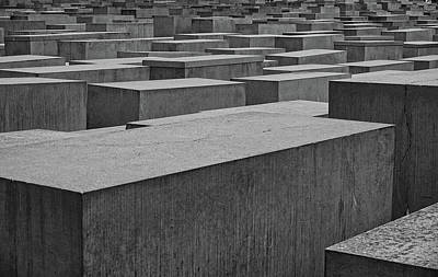 Photograph - Holocaust Memorial Berlin by Phil Cardamone