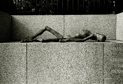 Photograph - Holocaust Memorial  by Shaun Higson